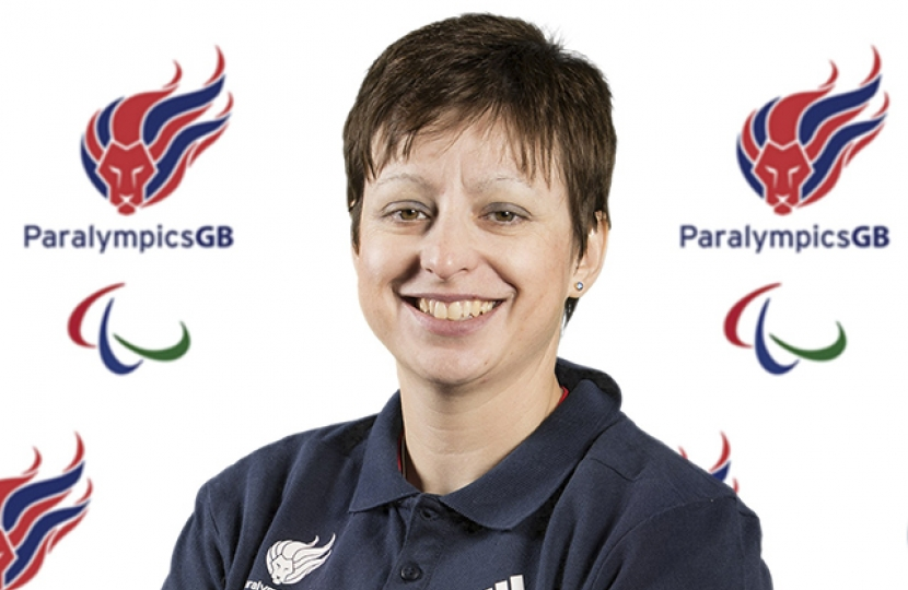 TWO PARALYMPIC MEDAL hopefuls got a cheer from West Worcestershire MP Harriett Baldwin this week as they head out to Rio to compete in the Paralympic Games